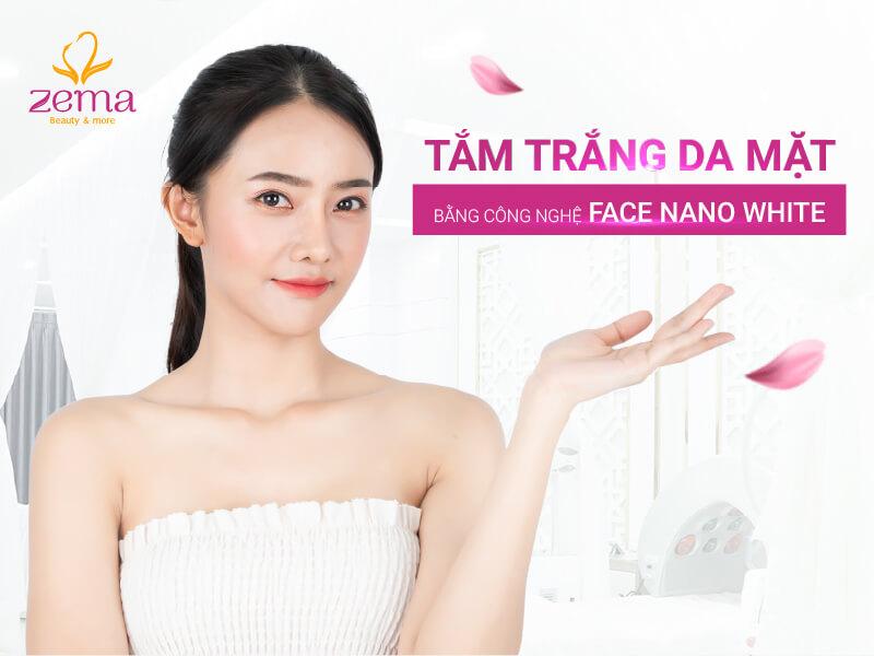 Tắm trắng cho mặt đang là dịch vụ phổ biến hiện nay