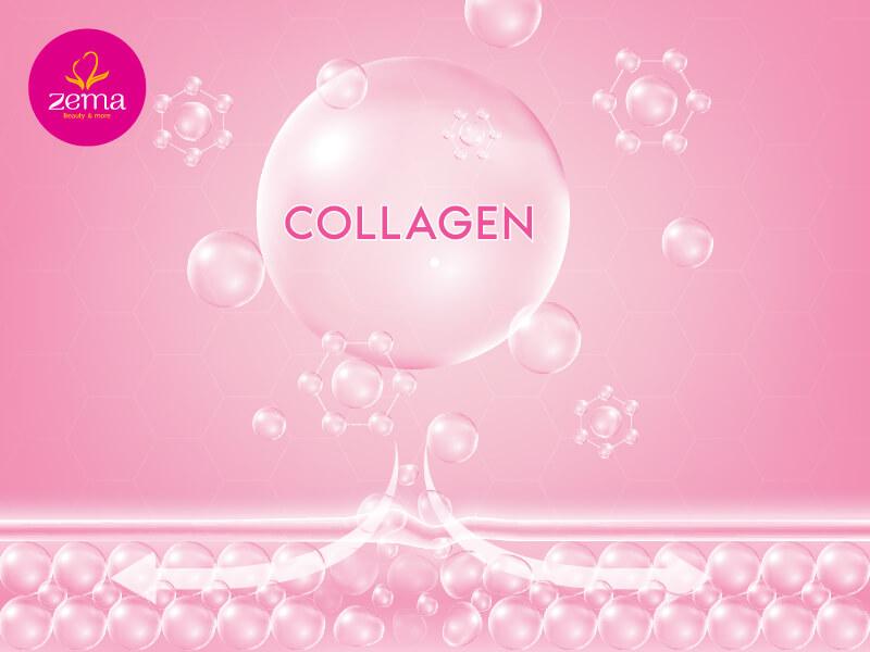 Diện di collagen khắc phục làn da nhiều khuyết điểm