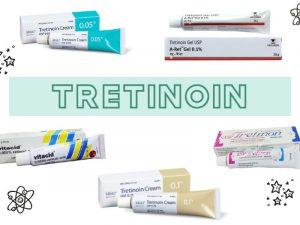 Các dòng sản phẩm tretinoin khác nhau trên thị trường