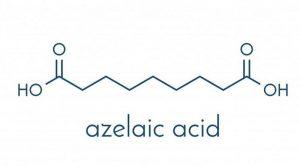 Cấu trúc hóa học của axit azelaic quyết định cách nó phản ứng với da