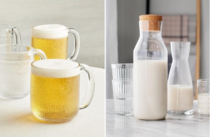 Rửa mặt bằng bia và sữa tươi trị mụn