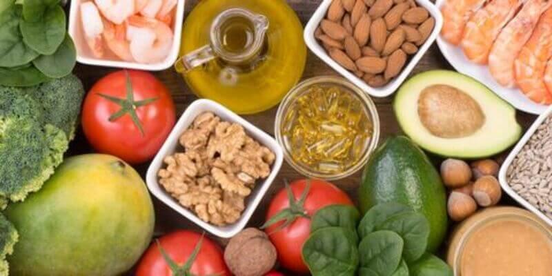 Vitamin e giúp làn da khỏe mạnh, đề kháng tốt