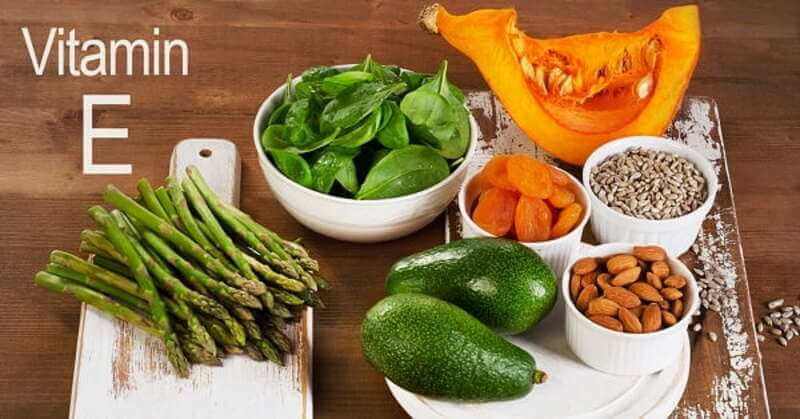 Thực phẩm tươi bổ sung vitamin e cho cơ thể